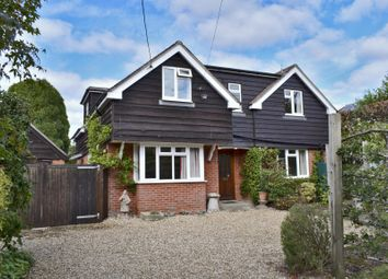 Thumbnail 3 bed detached house to rent in Pennington, Lymington, Hampshire