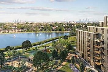 Thumbnail 1 bed flat for sale in Hartington, Woodberry Down, London