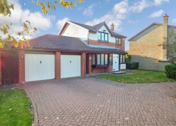 Thumbnail 4 bed detached house to rent in Whitworth Meadow, Middlestone Moor, Spennymoor