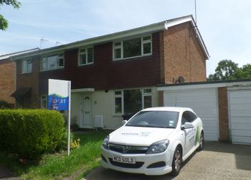 Thumbnail 3 bed semi-detached house to rent in Pinchmill Way, Sharnbrook, Bedford