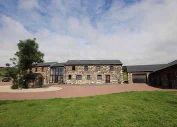 Thumbnail 6 bed detached house for sale in Ballayelse Farm, Ronague, Castletown