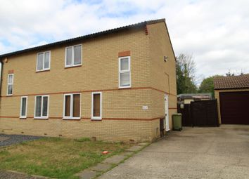 Thumbnail 2 bedroom semi-detached house for sale in Banktop Place, Milton Keynes