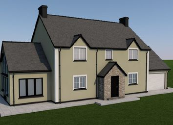 Thumbnail 4 bed detached house for sale in Aberbanc, Llandysul