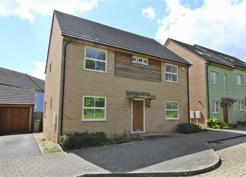 Thumbnail 4 bedroom detached house to rent in Flexerne Crescent, Ashland, Milton Keynes