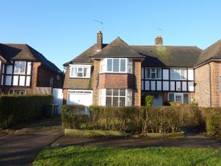 Thumbnail 4 bed semi-detached house to rent in Towers Road, Hatch End, Pinner