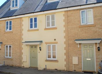 Thumbnail 3 bed terraced house to rent in Woodley Green, Witney, Oxfordshire