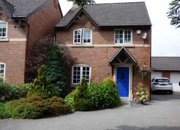 Thumbnail 4 bed detached house for sale in Castle Walks, Chirk, Wrexham