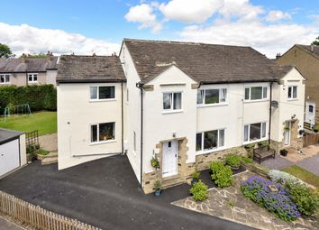 Thumbnail 4 bed semi-detached house for sale in Tranfield Close, Guiseley, Leeds