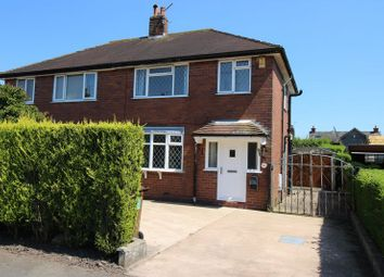 Thumbnail 2 bed semi-detached house for sale in Wetley Avenue, Cellarhead, Staffordshire