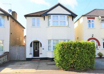Thumbnail 3 bed detached house for sale in Melrose Gardens, Burwood Park, Hersham, Walton-On-Thames