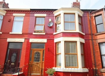 Thumbnail 4 bed terraced house for sale in Sandhurst Street, Aigburth, Liverpool