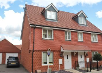 Thumbnail 4 bed semi-detached house for sale in Parsons Way, Tongham