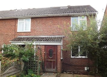Thumbnail 4 bed semi-detached house to rent in Shalcombe, Netley Abbey, Southampton
