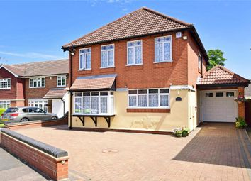 Thumbnail 4 bed detached house for sale in Steeple Way, Doddinghurst, Brentwood, Essex