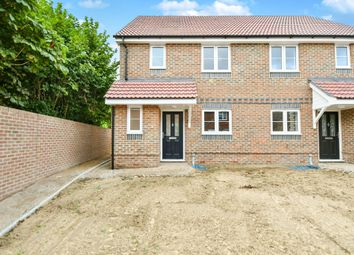 Thumbnail 3 bed semi-detached house for sale in Crown Close, Pewsey