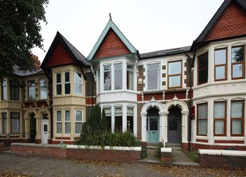 Thumbnail 4 bedroom terraced house for sale in Kimberley Road, Penylan, Cardiff
