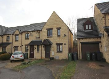 Thumbnail 2 bed end terrace house for sale in Kelso Court, Chippenham