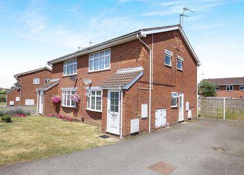 Thumbnail 1 bed flat for sale in Canterbury Drive, Perton, Wolverhampton