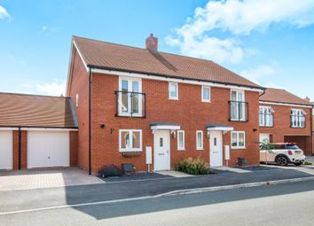 Thumbnail 3 bed semi-detached house for sale in Tarver Close, Romsey