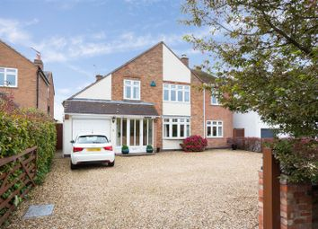 Thumbnail 4 bed detached house for sale in Main Street, Frolesworth, Lutterworth