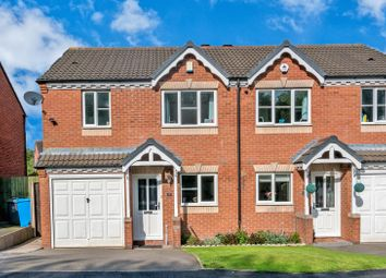 Thumbnail 3 bedroom semi-detached house for sale in Oakridge Drive, Cheslyn Hay, Walsall