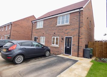 Thumbnail 2 bed semi-detached house for sale in Kestrel Garth, Brayton, Selby