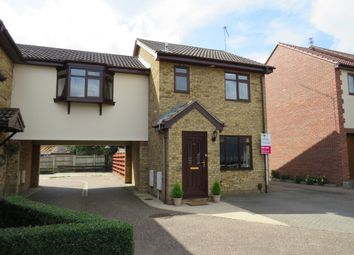 Thumbnail 3 bed link-detached house for sale in Bewick Close, Bradwell, Great Yarmouth