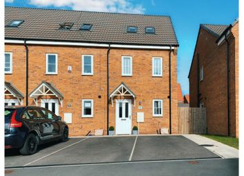 Thumbnail 3 bed end terrace house for sale in Brockwell Park, Kingswood, Hull