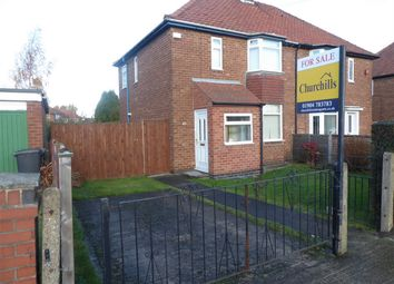 Thumbnail 2 bedroom semi-detached house for sale in Eason View, York