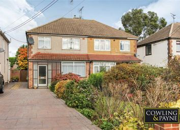 Thumbnail 3 bed semi-detached house to rent in Southend Road, Wickford, Essex