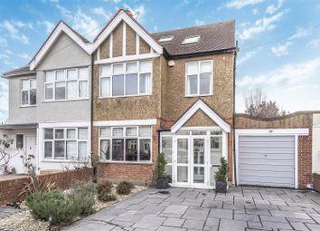 Thumbnail 4 bedroom semi-detached house for sale in Lancaster Gardens, Kingston Upon Thames