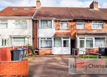 Thumbnail 3 bed terraced house for sale in The Ridgeway, Erdington, Birmingham