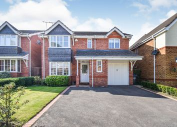Thumbnail 4 bed detached house for sale in Cedar Avenue, Coventry