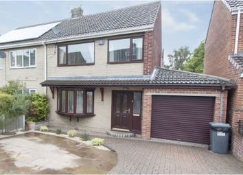 Thumbnail 3 bed semi-detached house for sale in Woodlands View, Wombwell, Barnsley