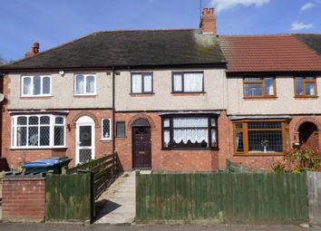 Thumbnail 3 bed terraced house for sale in Edward Road, Coventry