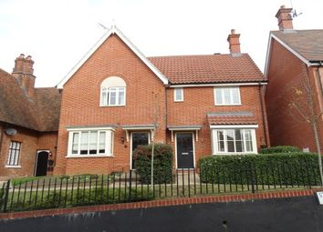 Thumbnail 3 bed semi-detached house to rent in St. Francis Walk, Convent Lane, Braintree