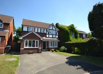 Thumbnail 4 bed detached house for sale in Tourney Green, Westbrook, Warrington