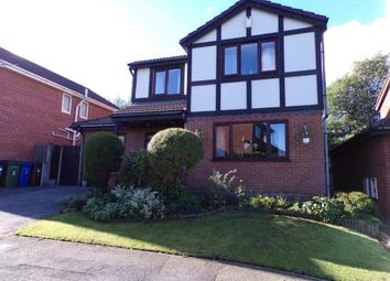 Thumbnail 4 bed detached house for sale in Wyecroft Close, Woodley, Stockport, Cheshire