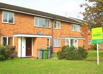 Thumbnail 2 bedroom maisonette to rent in Rowood Drive, Solihull, West Midlands