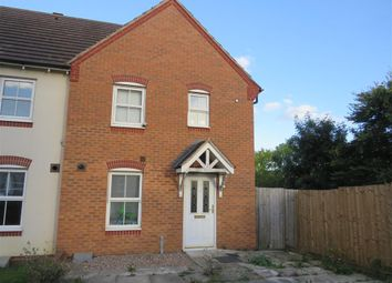 Thumbnail End terrace house for sale in Johnson Avenue, Wellingborough