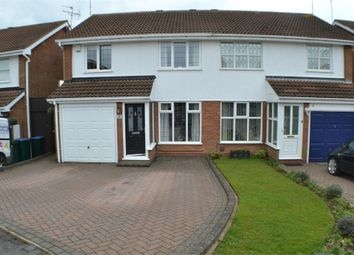 Thumbnail 3 bedroom semi-detached house for sale in Eacott Close, Coventry