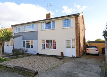 Thumbnail 4 bed semi-detached house for sale in Sunnymede Close, Benfleet, Essex