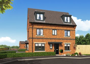 "Thumbnail 4 bed property for sale in ""The Overton"" at Woodford Lane West, Winsford"