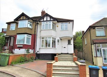 Thumbnail 3 bed semi-detached house for sale in Fairfields Close, Kingsbury