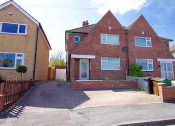 Thumbnail 3 bedroom semi-detached house for sale in Denegate Avenue, Birstall, Leicester