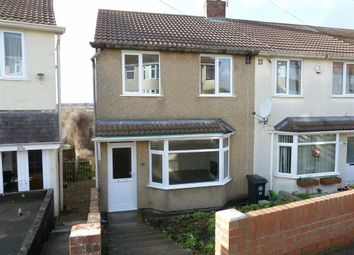 Thumbnail 3 bed end terrace house for sale in Novers Park Drive, Knowle, Bristol