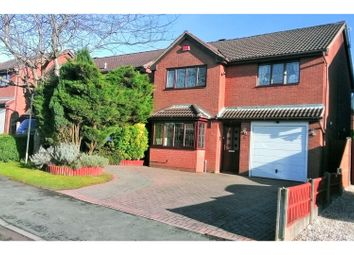 Thumbnail 4 bed detached house for sale in Newlands Lane, Cannock