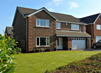 Thumbnail 4 bed detached house for sale in Parkfields Road, Moresby Parks, Whitehaven, Cumbria
