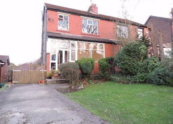 Thumbnail 4 bed semi-detached house for sale in Ernocroft Road, Marple Bridge, Stockport