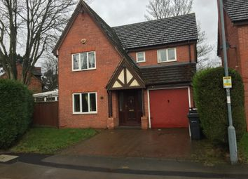 Thumbnail 4 bed detached house to rent in Sycamore Crescent, Erdington